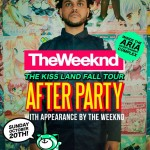 The Weeknd To Host Kiss Land AP Inside Toronto's Aria Complex [Oct 20th]