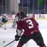 Hockey Player Gets Checked So Hard He Does A Full Flip [Video]