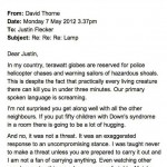 Epic Letter From Neighbour Regarding Flood Light Is Hilarious [Must-Read]