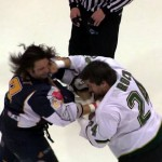 One of the Best Hockey Fights You'll See [The Ending Will Surprise You]