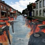 36 Reality Defying 3D Chalk Drawings By Julian Beever [Gallery]