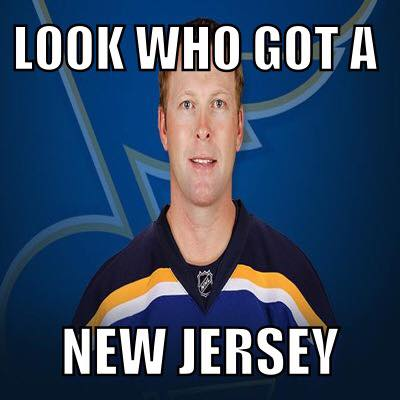 Congrats to Martin Brodeur for signing with the St. Louis Blues! This meme might have been overkill though...