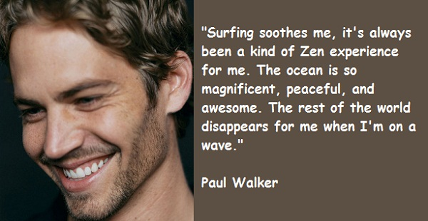 Paul Walker S Best Quote: Quotes From Fast And Furious 7 Paul Walker. QuotesGram